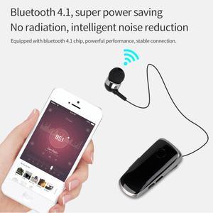 Image 5 - K39 Mini Portable oreillettes sans fil Bluetooth 4.1 écouteur dans loreille casque vibrant alerte usure Clip mains libres écouteurs pour téléphone