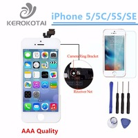 100 Tested AAA Quality LCD Display Screen For IPhone 5 5S 5C SE Display Screen LCD