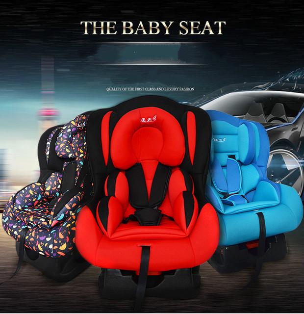 Criança portátil Assento de Segurança para Crianças Pode Sit Deitado Bidirecional Instalar Cadeira De Segurança Do Assento de Carro Do Bebê Recém-nascido 0-6 Anos velho C01