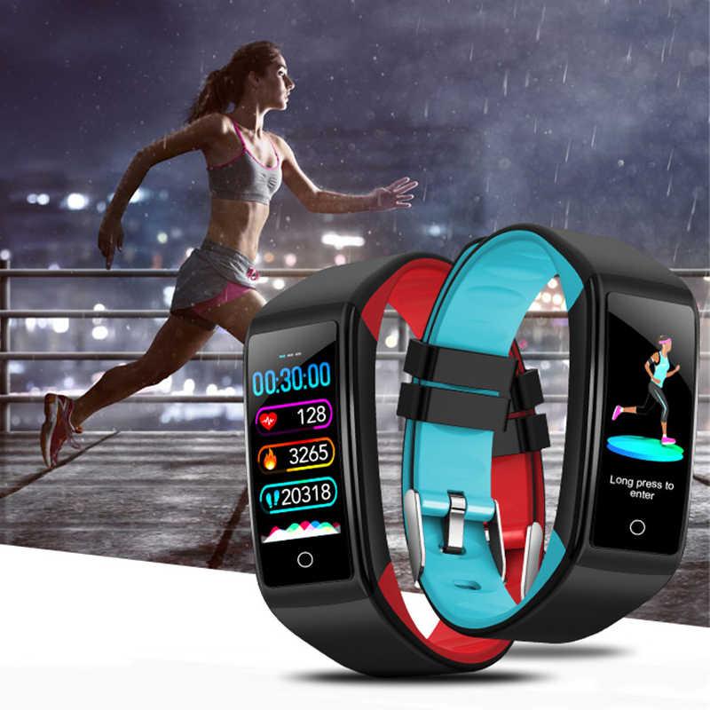 Ravi H3 Smartband Watch Heart Rate Tekanan Darah Pengukuran Pulse Monitor Smart Band Sport GPS Tracker Langkah Kebugaran Gelang