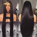 360 Frontal Del Cordón Peluca Llena Del Cordón Del Pelo Humano Pelucas Para Negro mujeres 8A 360 Del Frente Del Cordón Del Pelo Humano Pelucas Llenas del Cordón Brasileño peluca