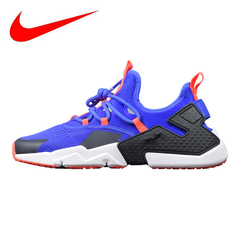 low priced 68fcc 09280 Nike Air Huarache Drift BR 6 Mens Running Shoes, Shock Absorbing  Lightweight Breathable Non-slip, Blue  Black AO1133 400