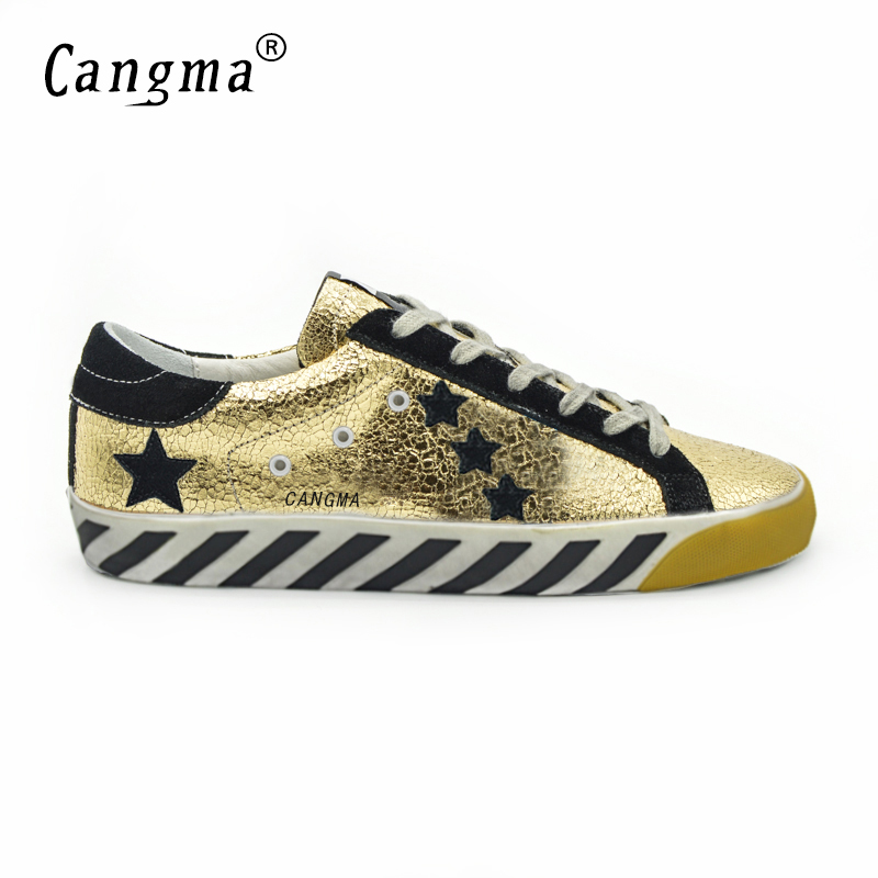 ФОТО CANGMA Original Italy Deluxe Brand Francy Men Shoes Genuine Leather Superstar Male Casual Handmade Shoes Homme Schoen Heren 2017