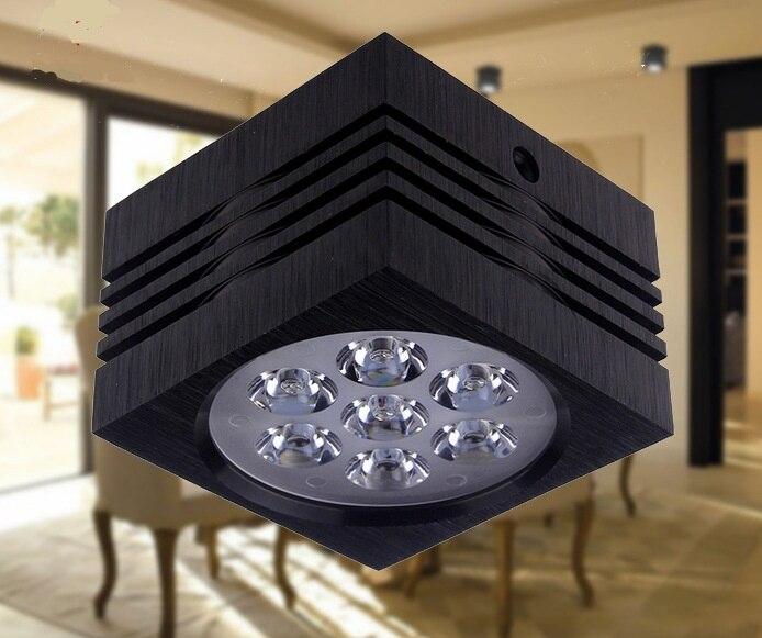 2018 продажа Cqc Emc Lvd 10 шт. новый светодиодный прожектор 3 Вт/5 Вт/7 Вт для квадратный вниз свет квасцов Потолочные Ac85-265v встраиваемые розничной га...