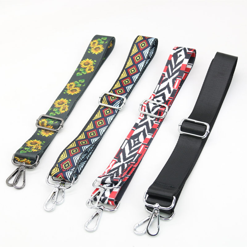 Nylon Colorful Bags Strap Belt Fashion Accessories Man Women Adjustable Shoulder Hanger Handbag Strap Decoration Handle Ornament