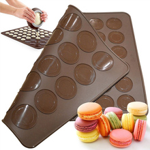 30/48 Holes Silicone Mat For Oven Macaron Silicone Baking Ma