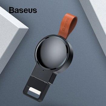 Chargeur sans fil Portable Baseus pour Apple Watch Series 4/3/2/1 charge sans fil magnétique pour Apple Watch chargeur USB rapide