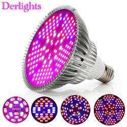 100W 80W 50W 30W 18W E27 LED Grow Light Hydroponic Lighting for Flower Hydroponics System indoor Garden Greenhouse Plants