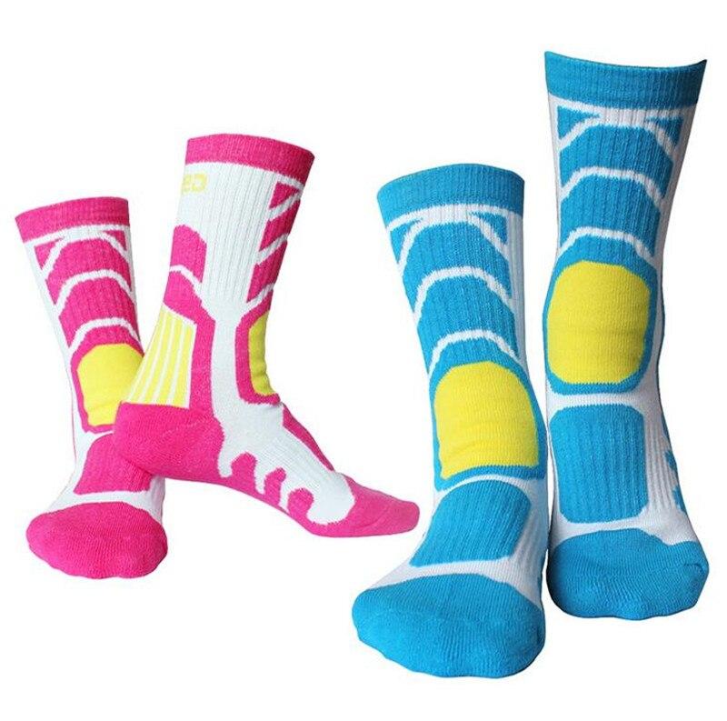 1 Pair Child Women Breathable Anti-sweat Outdoor Sport Socks For Cycling Walking Running Skating Leg Warmer