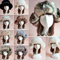 New Arrival 2016 Winter Women Mens Rabbit Fur Warm Ear Bomber Hat Ushanka Russian Cossack Trapper Pilot Cap chapeu gorro ruso