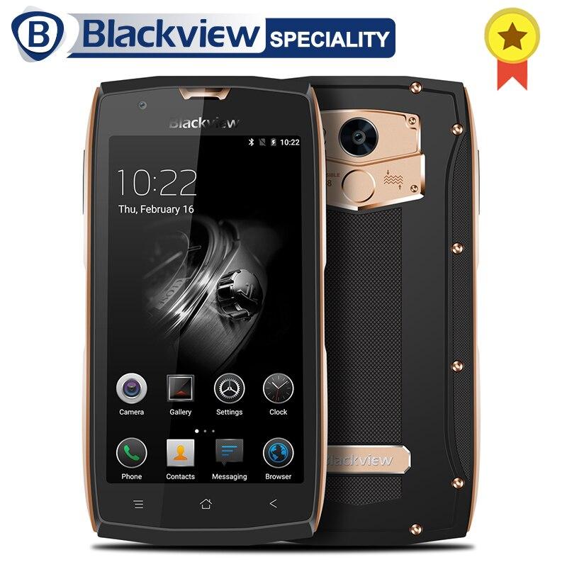 Blackview BV7000 Pro MT6750T Octa Core Per Smartphone 5.0 pollice Impermeabile Del Telefono Del Moblie 13.0MP Android 6.0 4 gb di RAM 64 gb ROM Cellulare