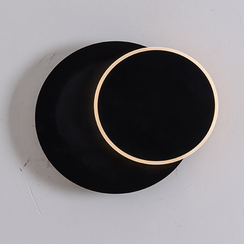 Black/ White Modern Loft Cearative Bedroom Wall Light Removable Round Bathroom Study Aisle Light Led Wall Sconce Free Shipping savio chan china s super consumers what 1 billion customers want and how to sell it to them