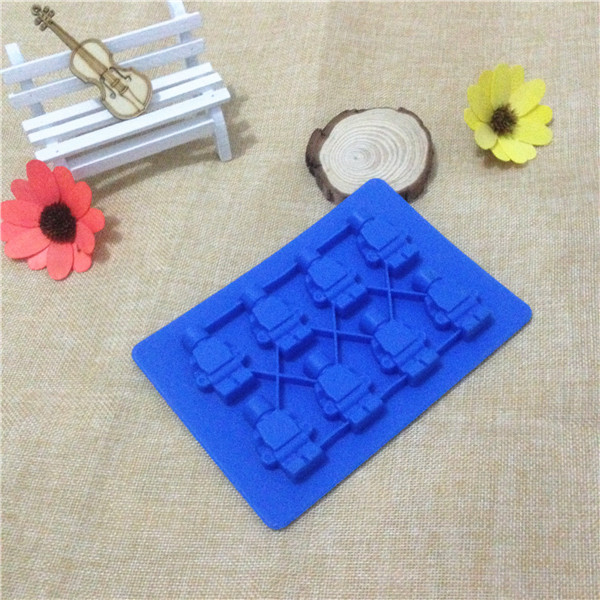 Manufacturer Sale 1pcs Silicone Lego Robot Ice Cube Ice Box Chocolate Molds Jelly Molds Candy Cake Mould Bakeware