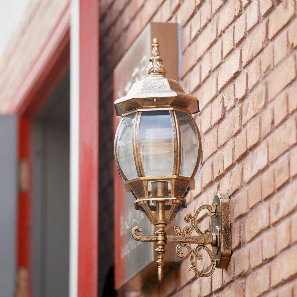 Achetez en gros mur ext rieur lanterne en ligne des for Applique murale exterieure lanterne