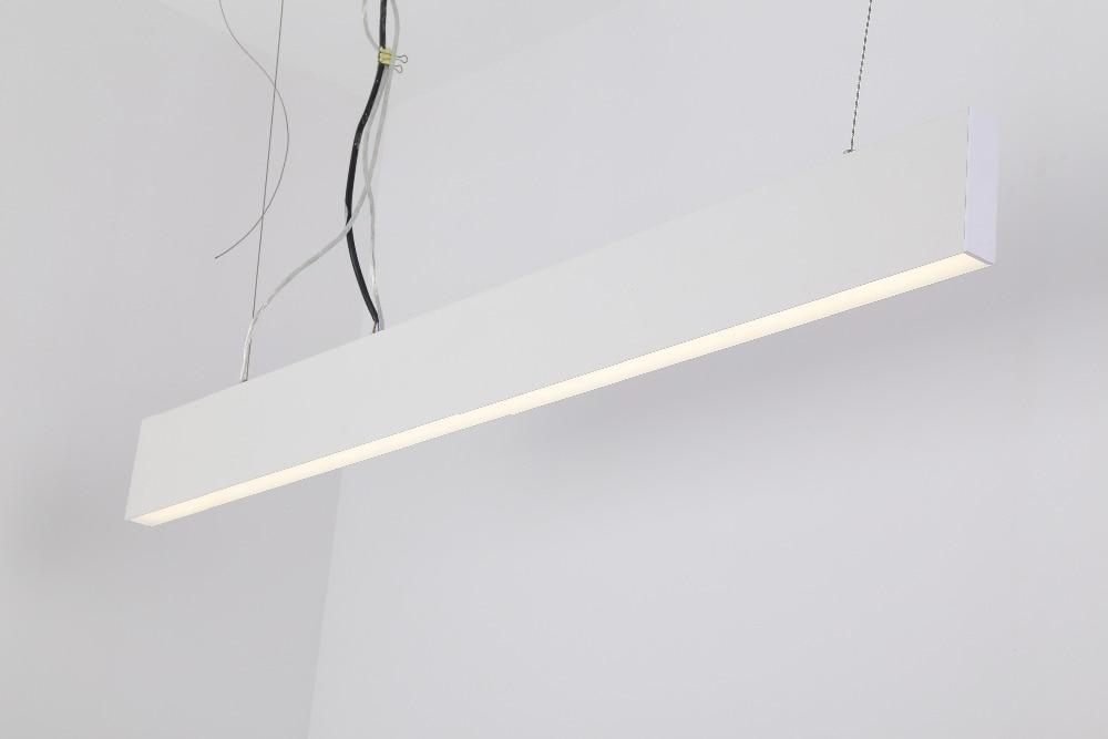 frete gratis china lonon ip20 levou linha de producao de luz pendurado luminaria sarrafo ac85 265v
