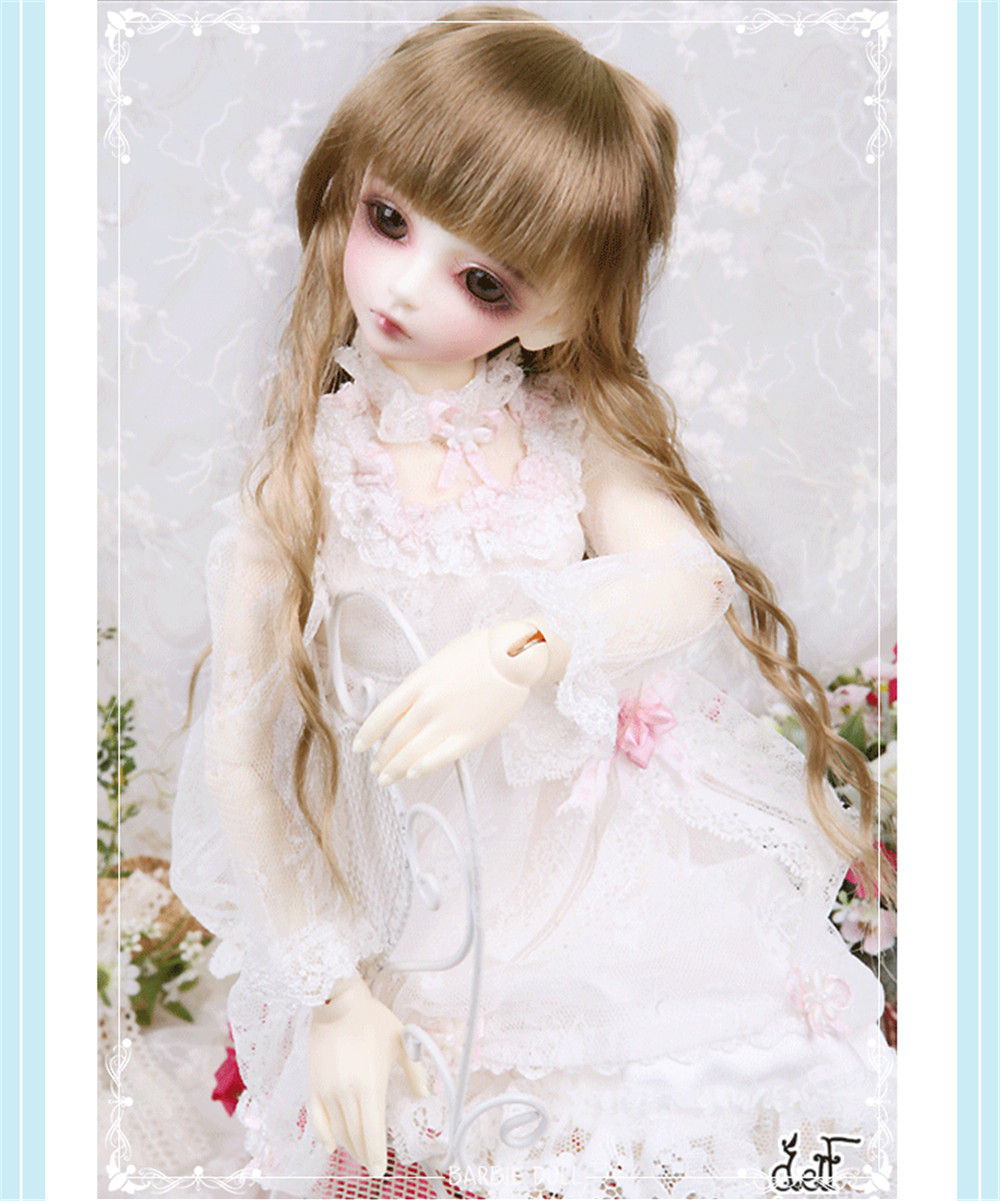 stenzhorn    D Eva BJD doll 4 female luts bory Girl DIY AS Chloe doll special package mail