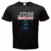 2018 Новое поступление Повседневное Для мужчин Костюмы JDM культура японского Внутреннего Рынок импорт Авто Японии записи Футболка