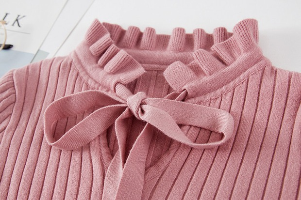19 new fashion Slim Knitted Sweater Female Long Sleeve Autumn Sweater Womens Pullovers Sweaters Winter Sweater Women 12