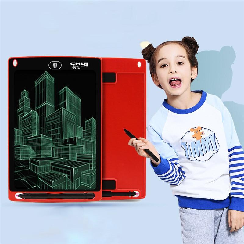 Mini Blackboard With Stand 8.5 Inch LCD Kids Small Magnetic Chalkboard Blackboard Hanging Message Chalk Board Wedding Easel