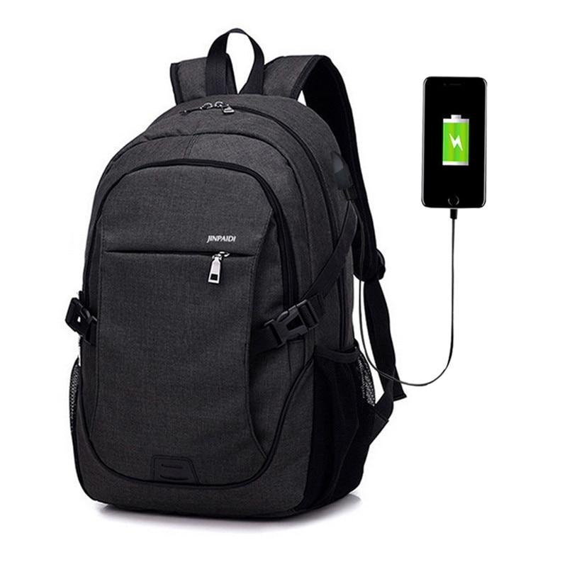 Litthing Men Backpack Laptop Bag Brand 15.6 Inch Notebook Mochila Male Waterproof Back Pack School Backpack School Backpacks