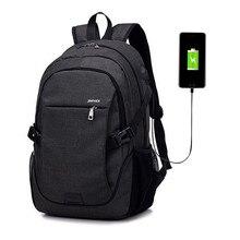 Litthing Men Backpack Laptop Bag Brand 15.6 Inch Notebook Mochila Male Waterproof Back Pack Backbag School Backpack #N