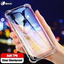GKK Case for Samsung Galaxy A50 A10 A30 A60 A70 Transparent Reinforced Soft TPU Anti-knock Cover Coque Fundas