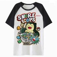 4c70942502 FASXXION Snorlax t shirt tshirt men hip top funny male clothing tee t-shirt  for hop