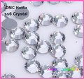 Free Shipping! 1440pcs/Lot, ss6 (1.9-2.1mm) High Quality DMC Crystal Iron On Rhinestones / Hot fix Rhinestones