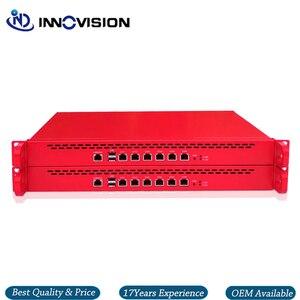 Image 3 - 6GBe/6 * RJ45 Gbe LAN raf 1U Pfsnese güvenlik duvarı sunucu Barebone destek i3/i5,i7 işlemci, 2 * SFP seçeneği