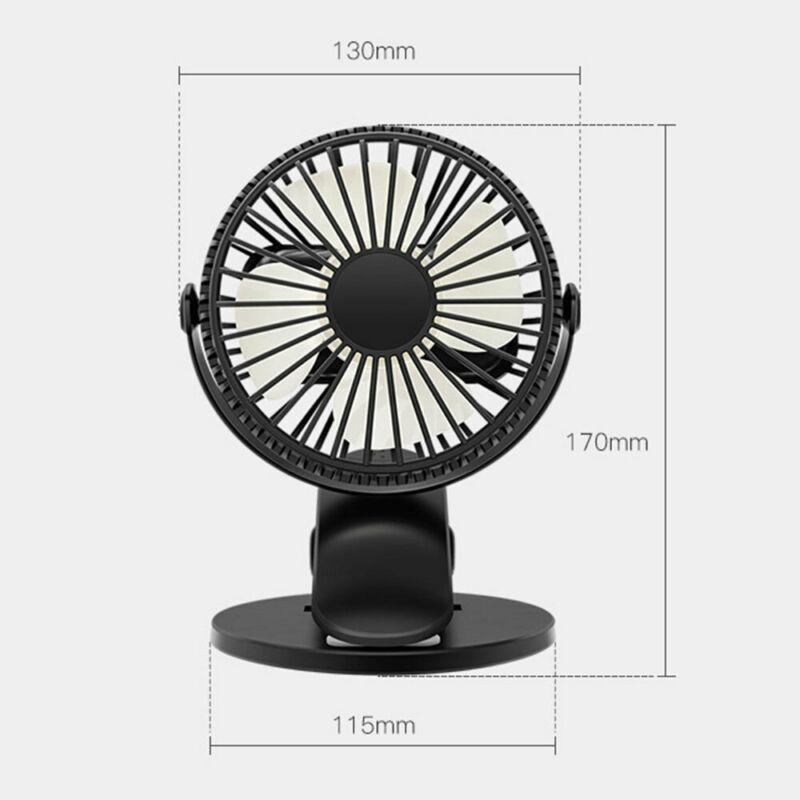 Ventilateur de refroidissement ultra silencieux USB portable Free Rotation