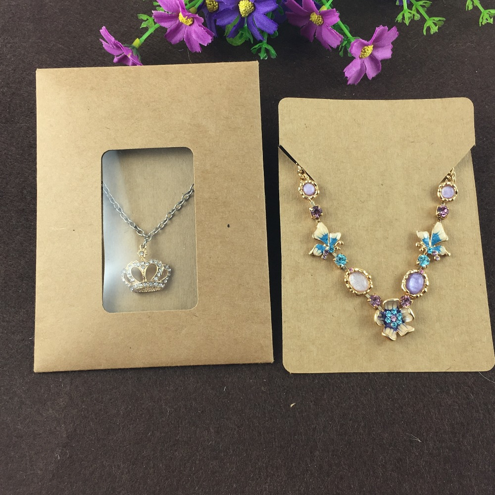 wholesale 60pcs/lot paper jewelry display and packaging ...  |Jewelry Display Packaging
