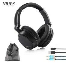 Bajo pesado Auricular Bluetooth Inalámbrico Auriculares Estéreo para Auriculares Micrófono Diadema Adecuado para cantar y escuchar música
