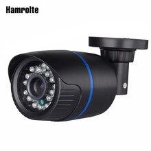 Câmera de vigilância externa, hamrolte onvif ip 2.8mm lente grande angular 1080p visão noturna ip câmera de detecção de movimento acesso remoto