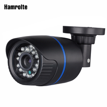 Hamrolte caméra de Surveillance extérieure IP hd 2.8 P, avec lentille grand Angle 1080mm, vision nocturne et détection de mouvement et accès à distance