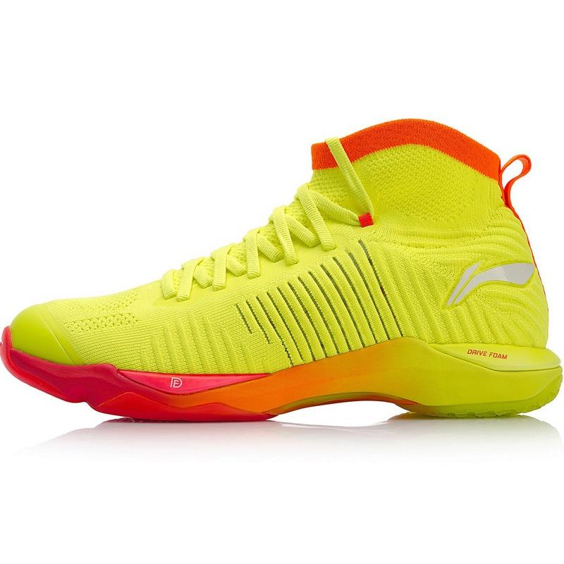 New Arrival Li-Ning Badminton Shoes Sapatos Femininos Lace-up Anti-slippery Pvc Floor Plastic Men Shoes