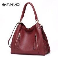 Genuine Leather Luxury Handbags Women Designer High Quality handbag Ladies Cross Body Real Leather Tote bags