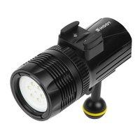 SingleDurable Diving Light Lamp LED Light Underwater Waterproof Case Accessory