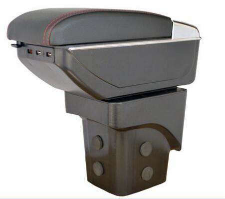 Для Ford Focus 2 Mk2 2005-2011 подлокотник вращающийся центр консоли коробка для хранения