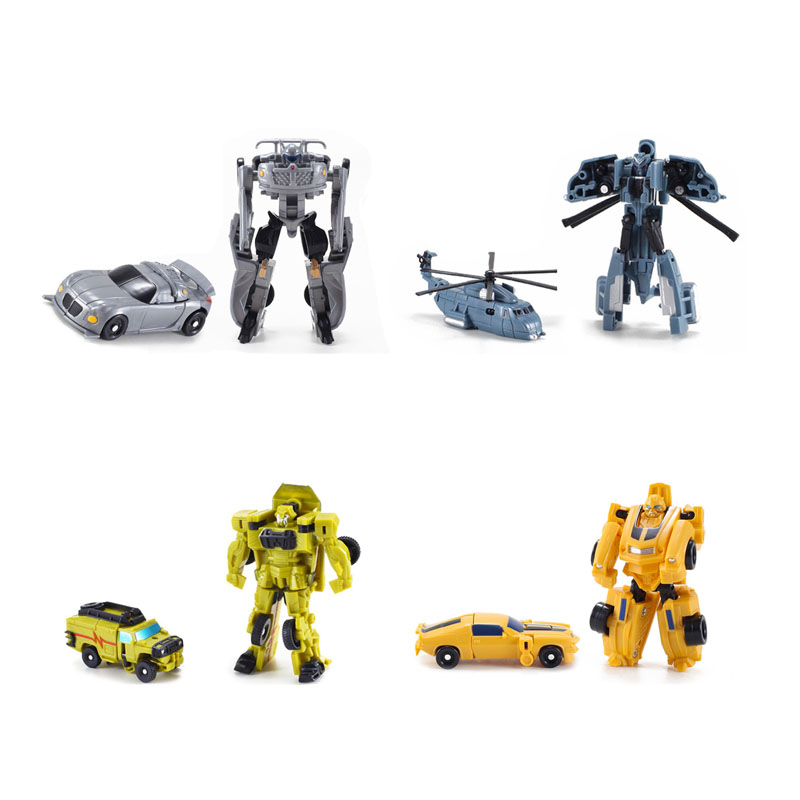 Transformation Robot 7pcs//lot Cars Toys Action Figures Classic Toys For Kids