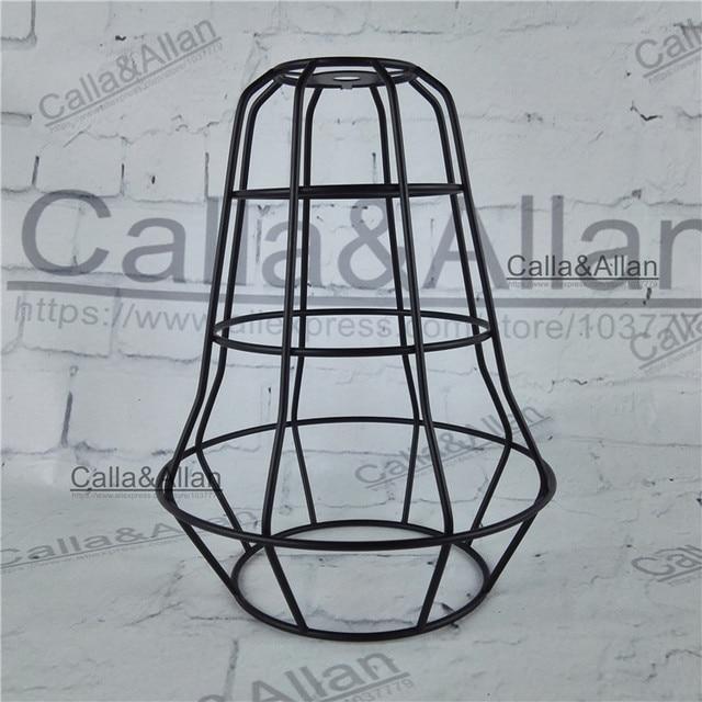 Free shipping m10 hole lamp shade 155mmx200mm iron spider web cage free shipping m10 hole lamp shade 155mmx200mm iron spider web cage edison lamp shade diy black aloadofball Gallery