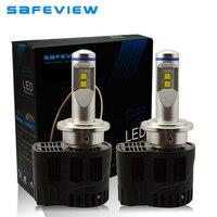 P6 D2S 55W Car Replacement Headlight LED Bulb 10400LM Auto Parts Lamp 3000K 4000K 5000K 6000K