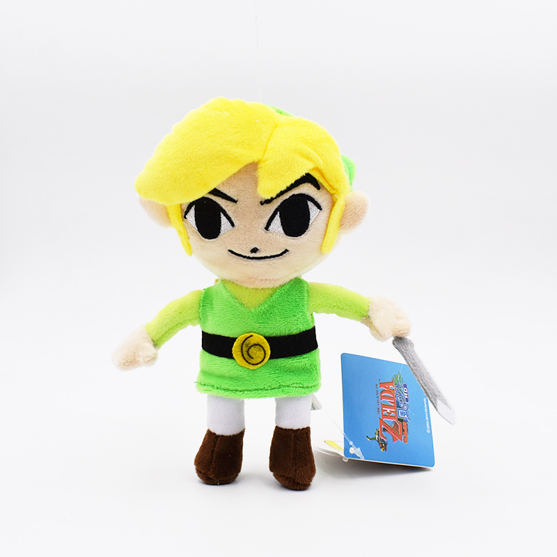 2017 The Legend of Zelda plush 7 19cm The Wind Walker Zelda Plush Toys Stuffed Dolls Gift For Children Free Shipping brand new crackle the dragon plush from sofia the first show 12 baby toys for children stuffed