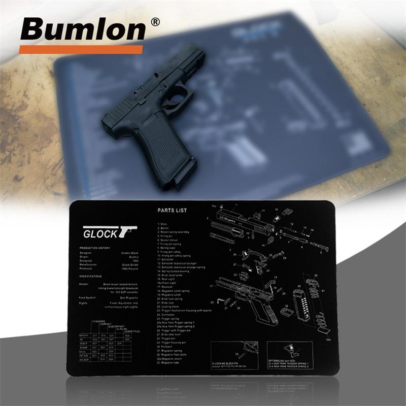 Outstanding Glock Gun Cleaning Rubber Mat 17X11 Waterproof Non Slip Clean Mat Wiring 101 Mentrastrewellnesstrialsorg