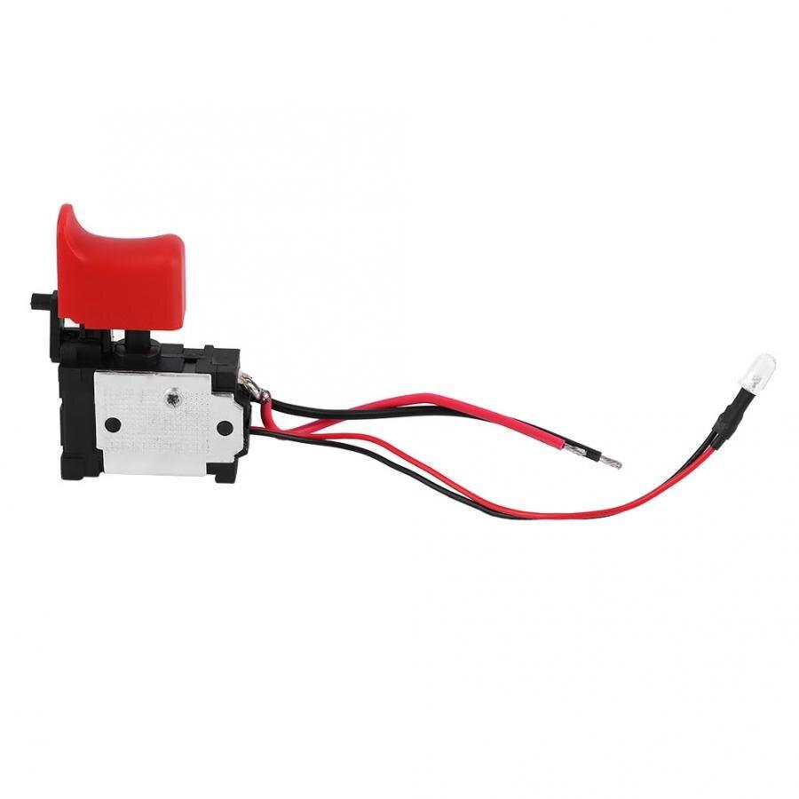 Matkap Black Adjustable Speed CW/CCW Electric Drill Trigger Switch 7.2V-24V DC Taladro Inalambrico.