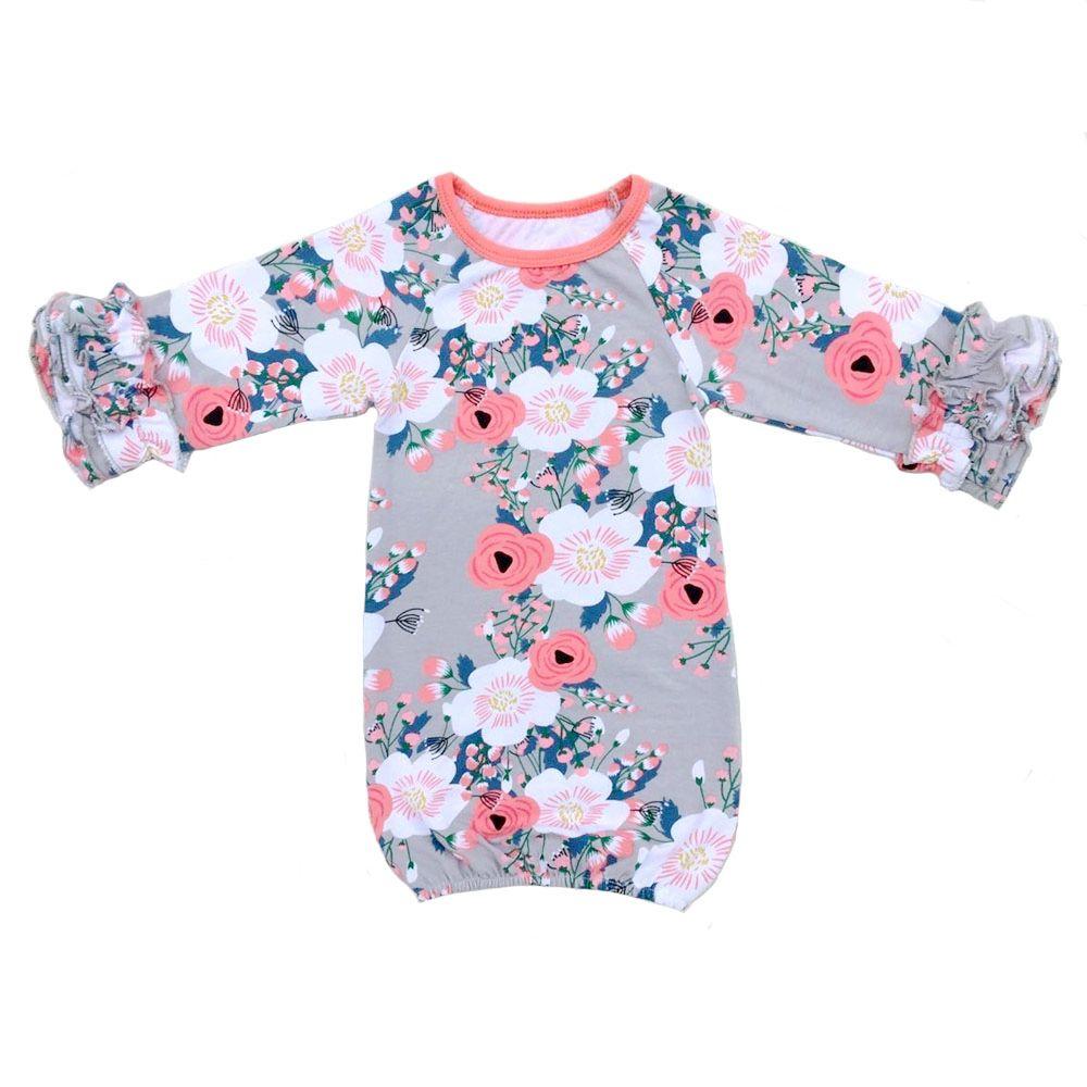 baby girl pajamas ZD-BG024 (2)