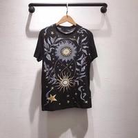 2019 Summer T Shirt Women O neck Short Sleeve Print T shirt Leisure Comfortable Vogue Aesthetic Tshirt For Women