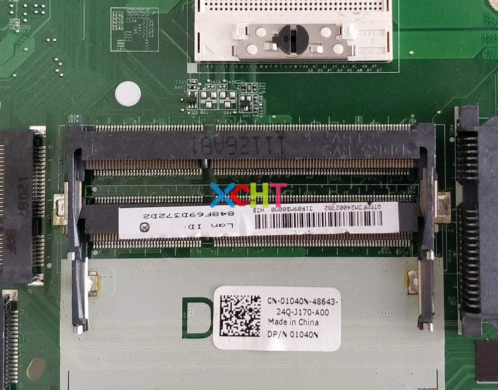 Image 3 - for Dell Inspiron 5720 CN 01040N 01040N 1040N DA0R09MB6H1 N13P GV B A2 Laptop Motherboard Mainboard Tested-in Laptop Motherboard from Computer & Office