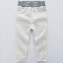 RICHM 2018 Pencil Pants Kids Trousers Fashion Girls Jeans Skinny Children Boys Denim Baby Casual Jean Infant
