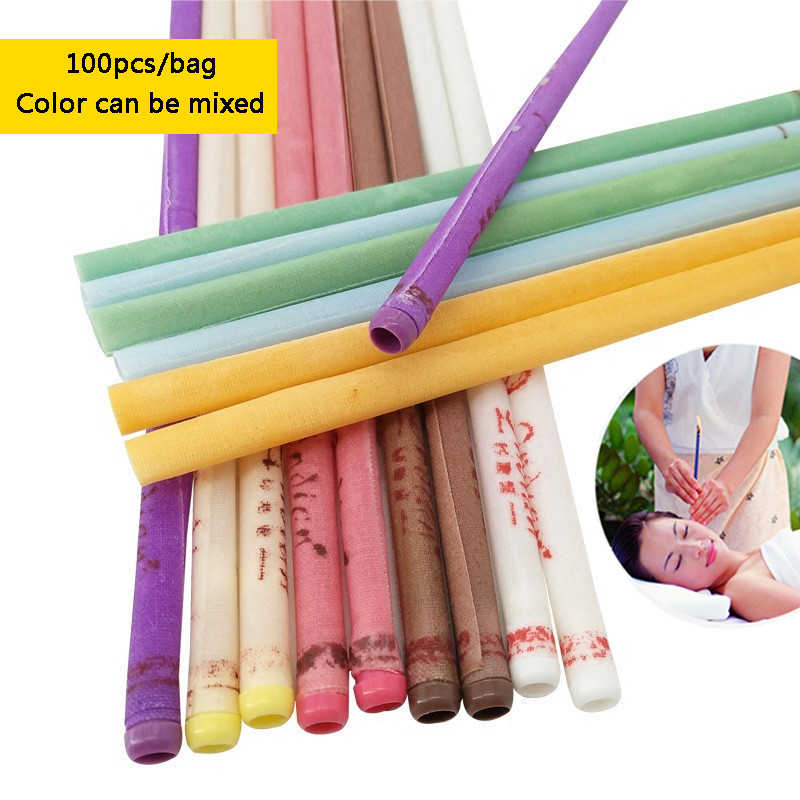 100pcs=50 Pairs Ear Wax Cleaner Removal Fragrance Ear