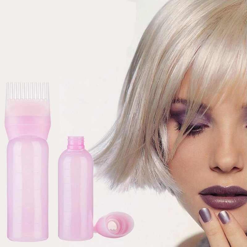 Корень расческа аппликатор бутылка для волос бутылка для краски с расчески цвет волос продукция для укладки со шкалой